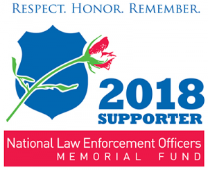 National Law Enforcement Officers Memorial Fund 2018 Logo
