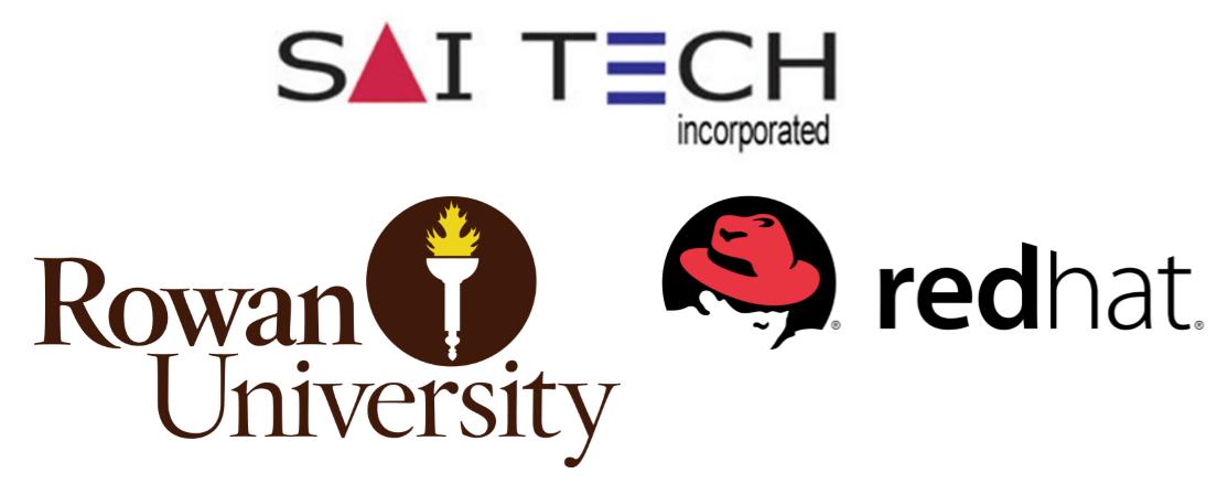 Saitech Rowan Univ. Redhat logo