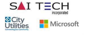 Saitech City Utilities Microsoft Logo