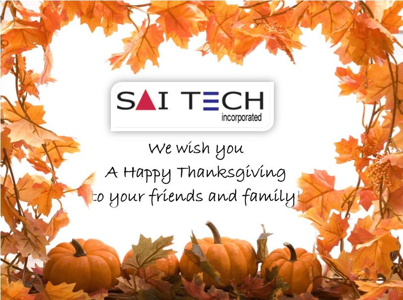 Saitech Thanksgiving 2017