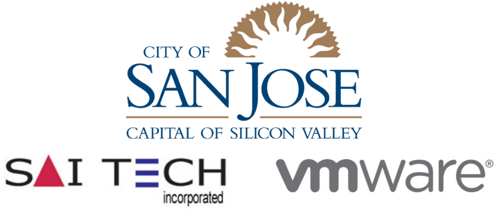 City of San Jose Saitech VMware logo