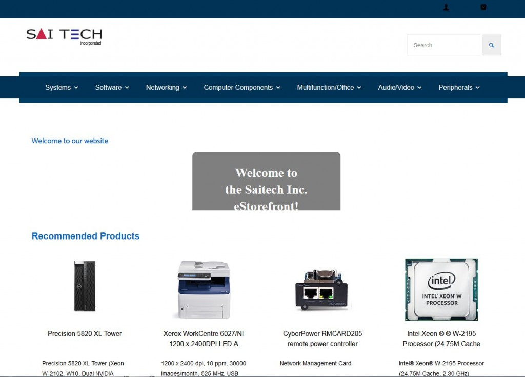 Saitech website