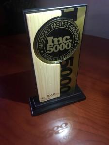 Inc 5000 2018 trophy
