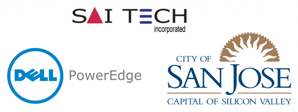 Saitech City of San Jose Dell PowerEdge logo