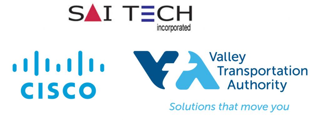 Saitech logo cisco VTA logo