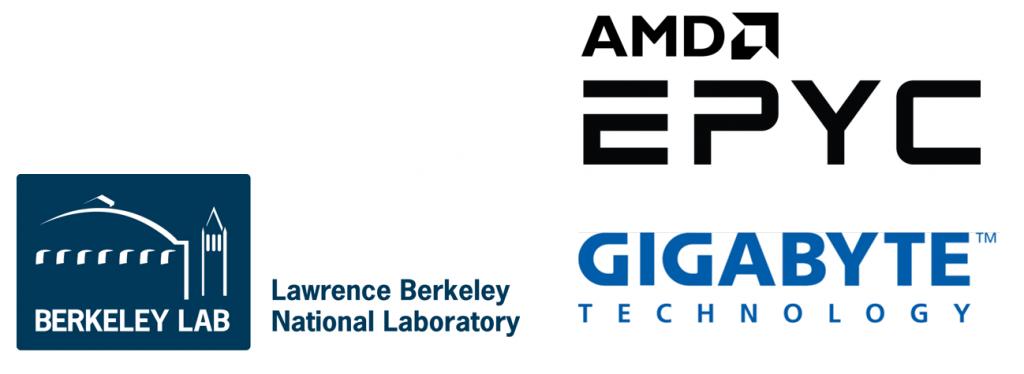 Saitech Berkeley Labs AMD EPYC logo