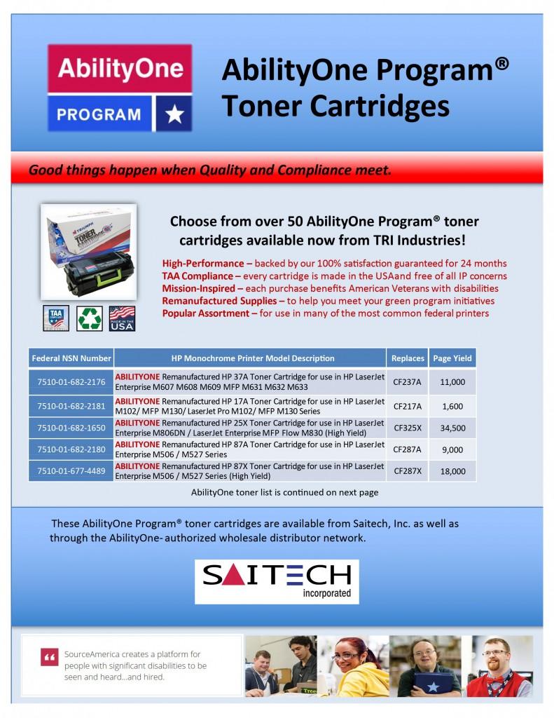 AbilityOne Flyer Spring 2020 pdf