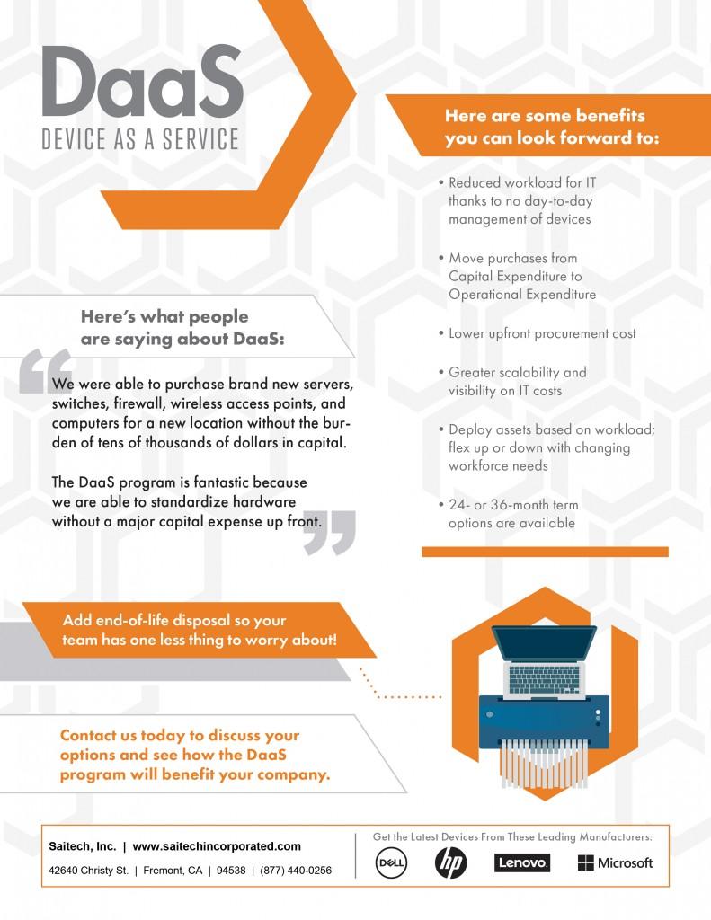 Saitech Inc. Daas Device as a Service-2