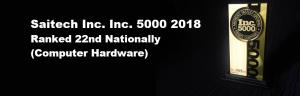 inc5000award BLACK background Ranked 22nd