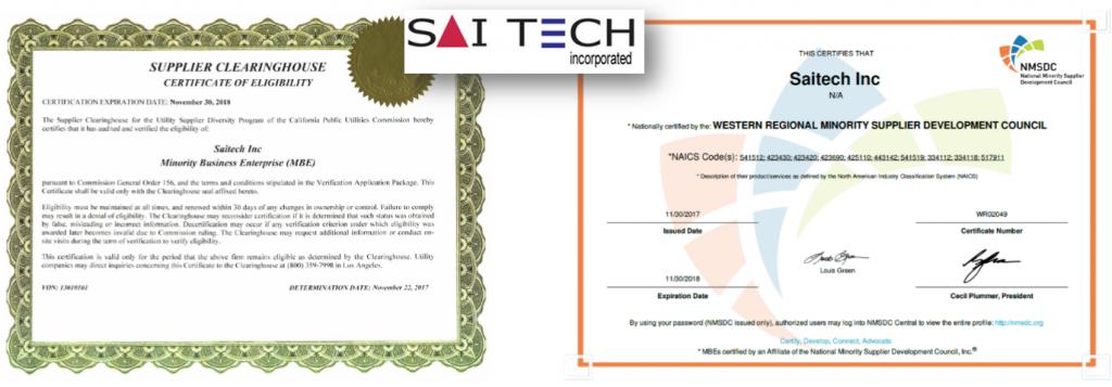 Saitech CPUC & WRMSDC