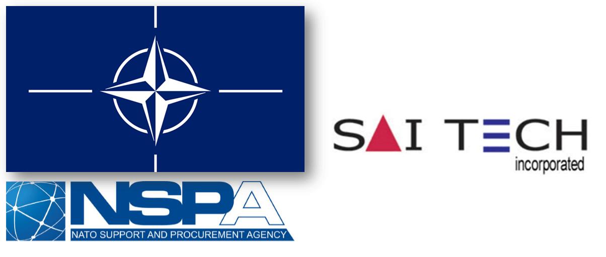 NSPA NATO Saitech logo